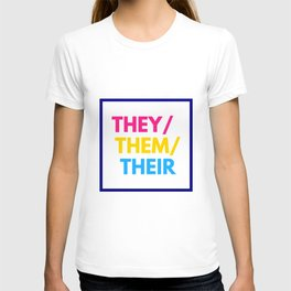 Pansexual Nonbinary Pride T-shirt
