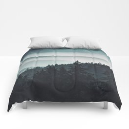 Mountain Light Comforters