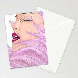 She feels like a unicorn Stationery Cards