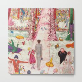 "Florine Stettheimer ""Sunday Afternoon in the Country"" Metal Print"