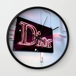 Designer Neon Wall Clock