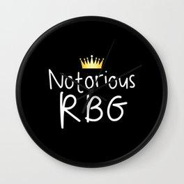 Notorious RBG Wall Clock