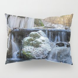 Ice Falls Pillow Sham