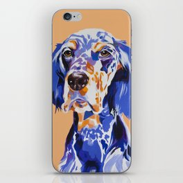 Noble English Setter iPhone Skin