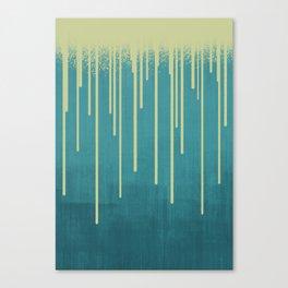 DROPS / pool Canvas Print