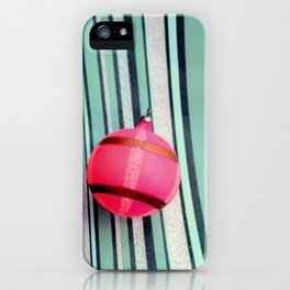 A Bit Of Pink Plaid iPhone Case
