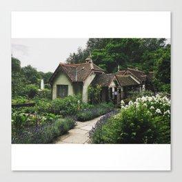 Bird Keeper's Cottage Canvas Print