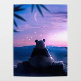 Lonely Panda Poster