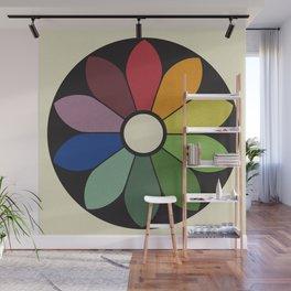 James Ward's Chromatic Circle Wall Mural