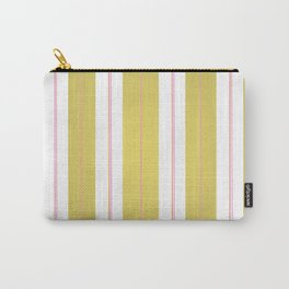 Golden and pink stripes Carry-All Pouch
