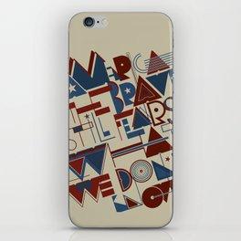 America the Brave iPhone Skin