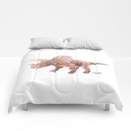 Orange Triceratops Comforters