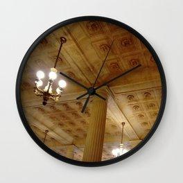 Grand théâtre de Bordeaux 4- inside the opera house Wall Clock