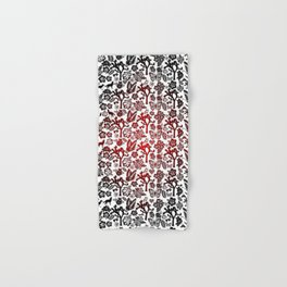 Joshua Tree Heart RED by CREYES Hand & Bath Towel