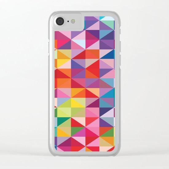 Geometric World No. 1 Clear iPhone Case