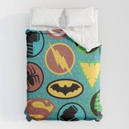Superheroes Everywhere Comforters