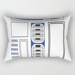 R2-D2 Uniform Rectangular Pillow