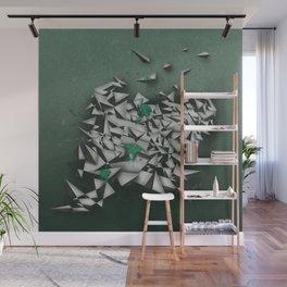 Emeralds Wall Mural