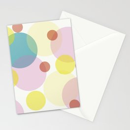 Light Orbs Stationery Cards