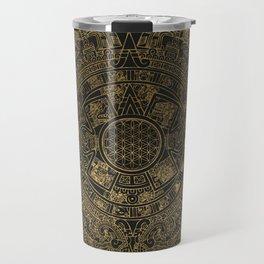 The Mayan Realization Travel Mug