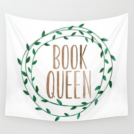 Book Queen Wall Tapestry