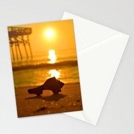 Shell Sunrise Stationery Cards