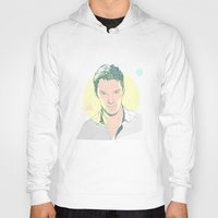 benedict cumberbatch Hoodies featuring Benedict Cumberbatch by chyworks