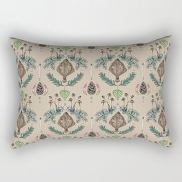 flounder  fish vintage dream Rectangular Pillow