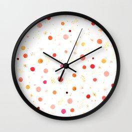 Happy Dots Wall Clock