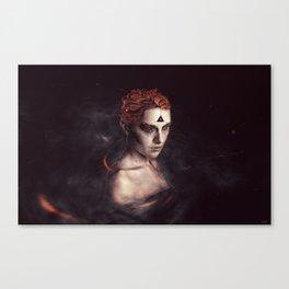 orgasm / luminescent series Canvas Print