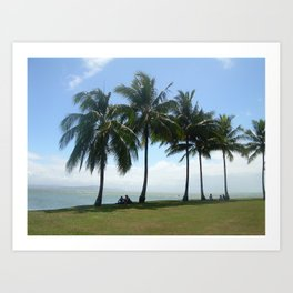 Beautiful day for a picnic  Art Print