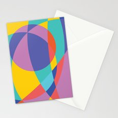Geometric Beach Ball 2 Stationery Cards