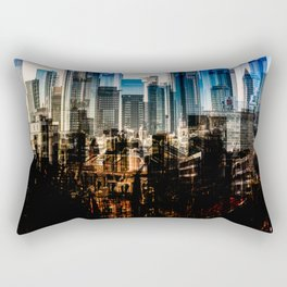 Frankfurt Cityscape Rectangular Pillow