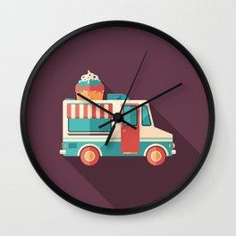 Ice Cream Van Wall Clock