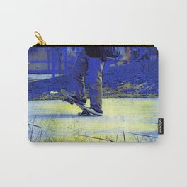 Skateboarder Stance Carry-All Pouch
