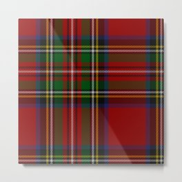 Scottish Royal Stewart tartan Metal Print