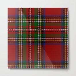 Scottish Royal Stewart tartan Metal Print