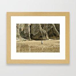 immensité Framed Art Print