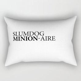 SLUMDOG MINION-AIRE Rectangular Pillow