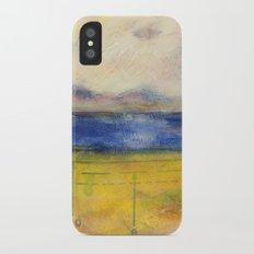 Blue Lake No. 1 iPhone X Slim Case