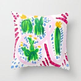 Flirty Girls Throw Pillow