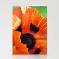 poppy Stationery Cards featuring POPPY by Teresa Chipperfield Studios