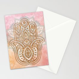 Summer Hamsa Stationery Cards