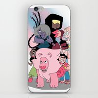 steven universe iPhone & iPod Skins featuring Steven Universe by Laura Pulido