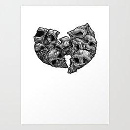 WuSkulls Art Print