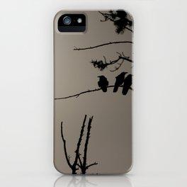 Three Crows iPhone Case