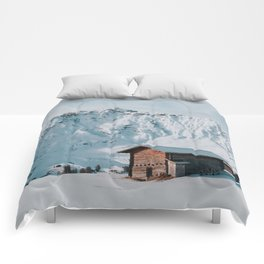 Hello Winter - Landscape and Nature Photography Comforters