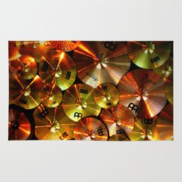 Cymbals fine art photography Rug