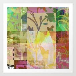 Perennials at Dusk Art Print