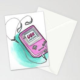 Ugh Whatever | GameBoy Parody Stationery Cards